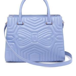 NEW Ted Baker London Quilted Bow Leather Tote